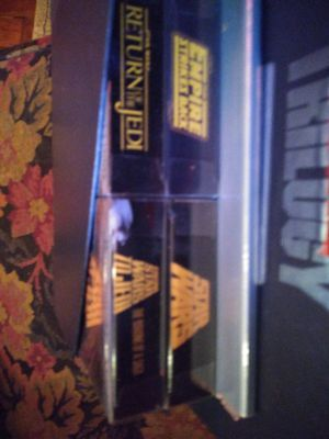 Star wars set vhs for Sale in Puyallup, WA