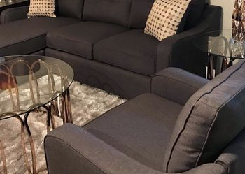 Dark Grey Sectional Sofa With Reversible Chaise !! Brand New for Sale in Chicago,  IL