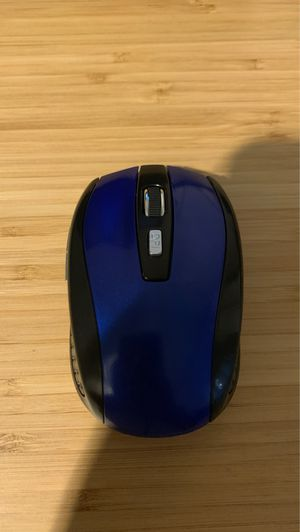 Blue wireless optical mouse for Sale in Los Angeles, CA