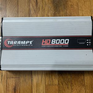 Taramps HD8K Amplifier for Sale in Indianapolis, IN