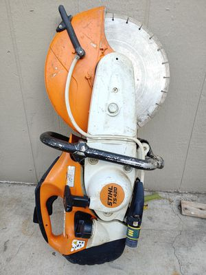 """STIHL TS420 14"""" concrete saw it works great for Sale in Oakland, CA"""