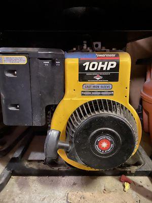 10 hp Briggs & Stratton generator for Sale in Chelmsford, MA