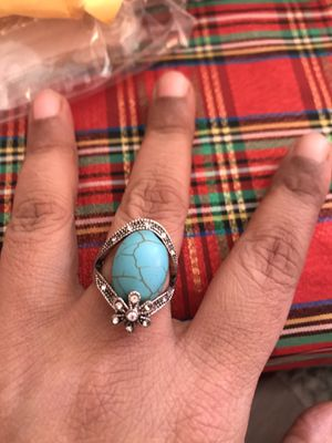 Beautiful turquoise ring 8 for Sale in Falls Church, VA