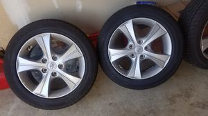 OEM Hyundai Wheels and Tires like new. 205 55 R16 for Sale in Manassas, VA