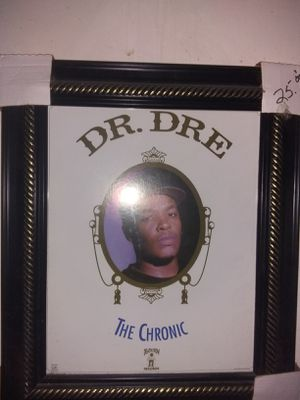 Dr dre the chronic framed picture for Sale in Denver, CO