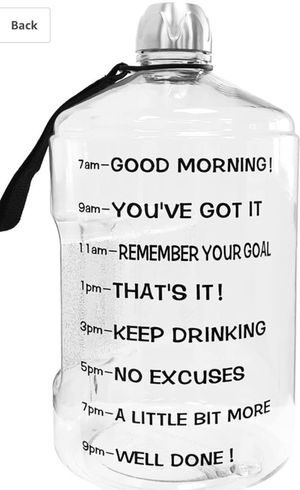 Motivational bottle for Sale in Petersburg, VA