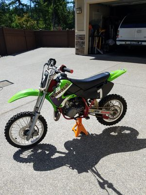 Dirt Bike 65 cc motorcycle Kawasaki KSA Kx65-A2 2001 WITH TITLE for Sale in Severna Park, MD