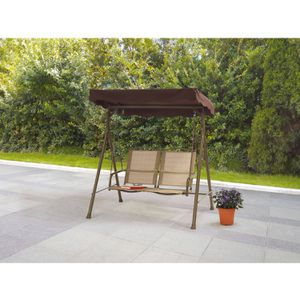 "2-Seat Sling Canopy Porch Swing 47.64""L x 61.81""W x 65.75"" for Sale in Dallas, TX"