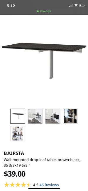IKEA wall mounted table for Sale in San Diego, CA