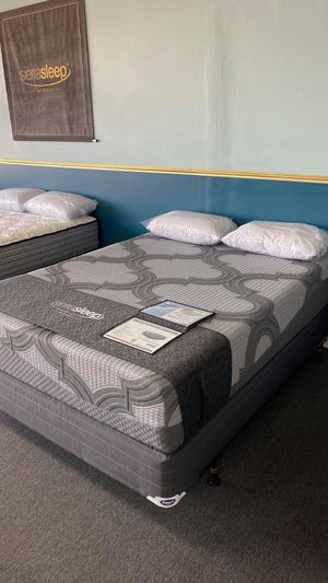Memory Foam Charcoal Mattress FINANCE NO CREDIT NEEDED 5386E for Sale in Irving, TX