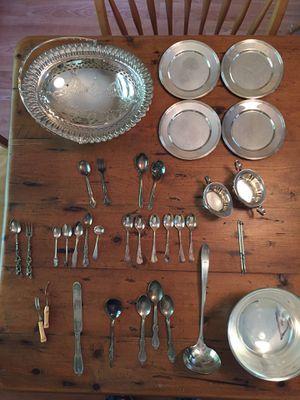 Assorted silverware for Sale in St. Petersburg, FL