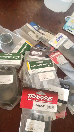 New RC CAR PARTS FOR DAYS EVERYTHING ON SALE LESSSS THAN RETAIL PRICE for Sale in Oceanside, CA
