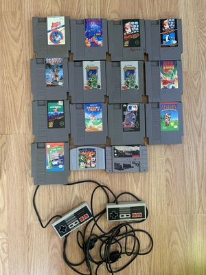 Original Nintendo Games & Controllers N.E.S for Sale in Vista, CA