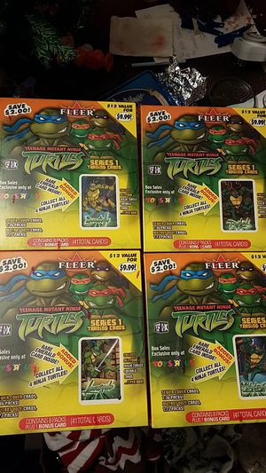 Toys R Us Exclusive TMNT Series 1 Trading Cards for Sale in Los Nietos, CA