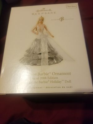 Barbie ornament 2008 edition for Sale in Brentwood, CA