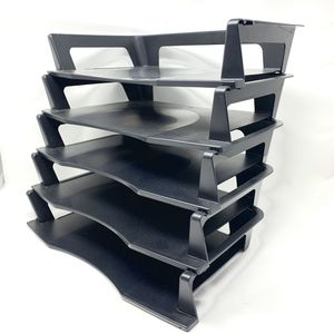 Rubbermaid File Trays - Black (set of 5) for Sale in Chicago, IL