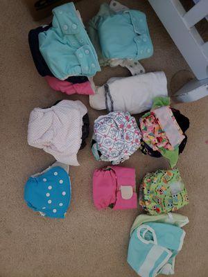Newborn Cloth Diaper Lot for Sale in Gilbert, AZ