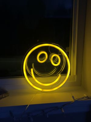 LED Smiley Light (color more like second photo) for Sale in Bothell, WA