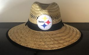 Steelers straw hats 20.00 each for Sale in Upland, CA