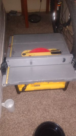 DeWalt table saw for Sale in Auburn, WA