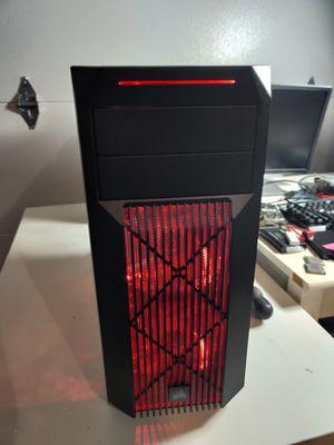 Budget Gaming Computer - Intel Q6700 quad core, 8GB RAM, 500GB HD, EVGA GTX 750Ti, Win10 for Sale in Columbus, OH