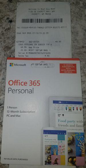OFFICE 365 for Sale in Lynnwood, WA