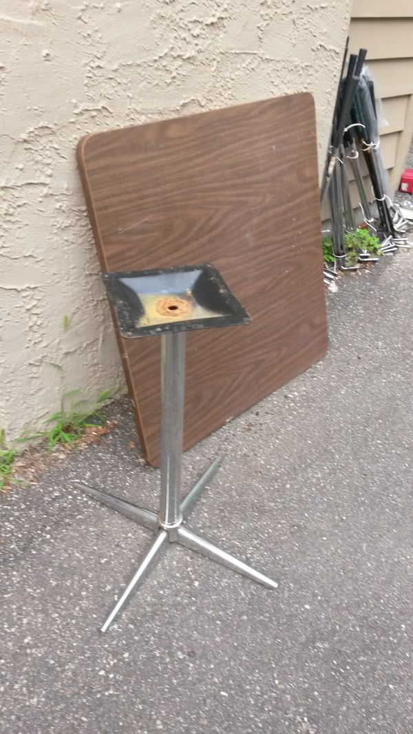 """Table - 35"""" Square Formica/commercial quality"""