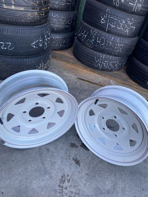 Trailer Tire Rims for Sale in ARROWHED FARM, CA