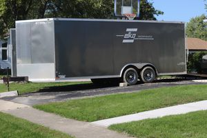 Stealth 23ft v nose car trailer with ramp for Sale in Schaumburg, IL