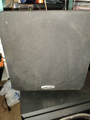 Polk Audio PSW111 8-inch 150-watt Powered Subwoofer for Sale in Tustin, CA