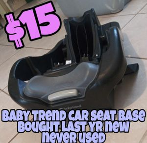Baby Trend car seat base for Sale in Spring Hill, FL