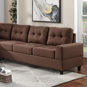 Reversible sectional brown for Sale in Houston, TX