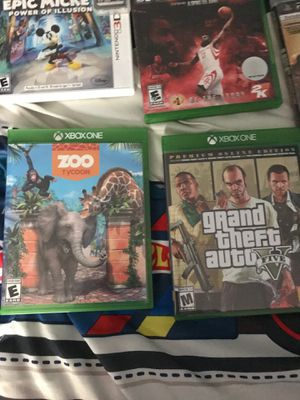 Nintendo 3ds games and Xbox one games all like brand new and Wii U games and ps3 games for Sale in Gilbert, SC