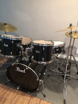 Pearl Forum Series complete drum set. Excellent. for Sale in Claremont, CA
