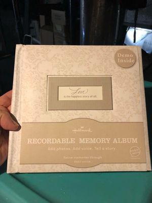 New Love Hallmark Recordable Album for Sale in Saint Joseph, MO