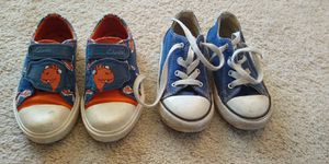 Toddler 9 Clark's and Converse for Sale in Sully Station, VA