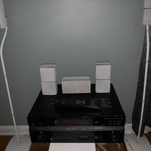 Bose Acoustimass 10 Series IV With Pioneer Receiver for Sale in Buffalo Grove, IL