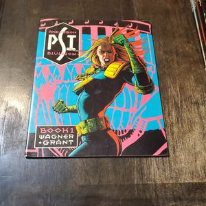 Judge Anderson Book One Psi Division First Print England 1987 Titan Books, Wagner, Grant, Trade Paperback Graphic Novel... for Sale in Fresno, CA