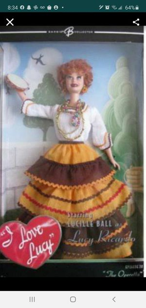BARBIE I Love Lucy Collector Doll - The Operetta Episode 38. for Sale in Dania Beach, FL