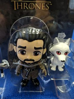 ⭐ NEW GOT FIGURE JON SNOW AND GHOST ⭐ for Sale in Oklahoma City,  OK