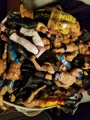 Wrestling figures for Sale in Providence, RI
