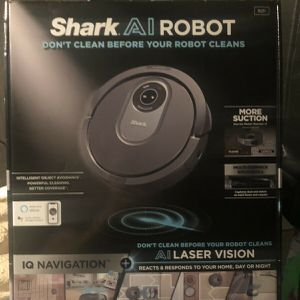 New Shark AI Robot Vacuum RV2011 with IQ Navigation and AI Laser Vision for Sale in Metairie, LA