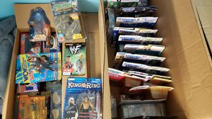 Collectible Figures: Sports, Wrestling, Star Wars, ect... for Sale in Long Beach, NY