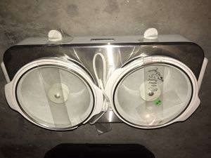Crock pot - Double cooker for Sale in Thonotosassa, FL