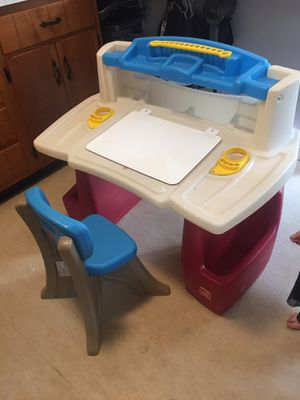Kids art desk for Sale in Lancaster, MA
