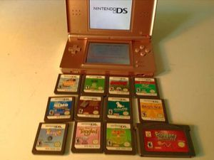 Nintendo DS Lite w/ 12 games ,**NEW Charger for Sale in South Salt Lake, UT