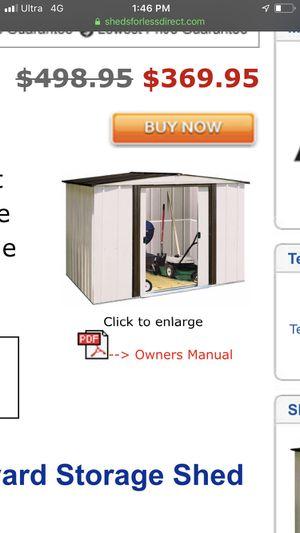 8'x6 ' storage shed by arrow for Sale in Anaheim, CA
