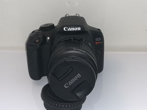 Canon eos rebel t6 like new condition for Sale in Indianapolis, IN