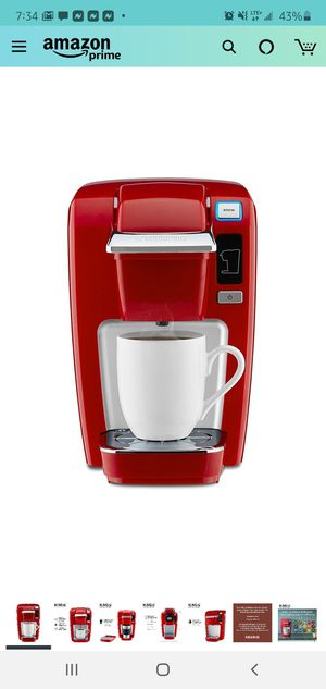Keurig coffee maker- mini Red color for Sale in New York, NY