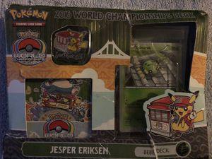 2016 workd championship deck pokeman jesper ericksen for Sale in Gibsonton, FL